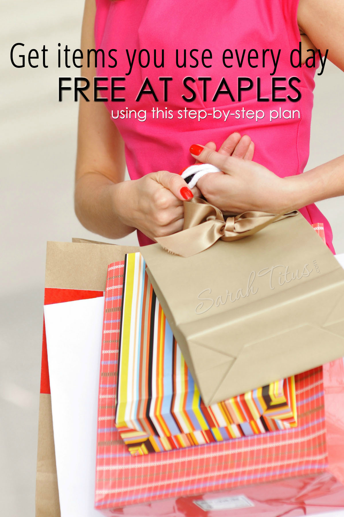 Get Items You Use Everyday for FREE at Staples