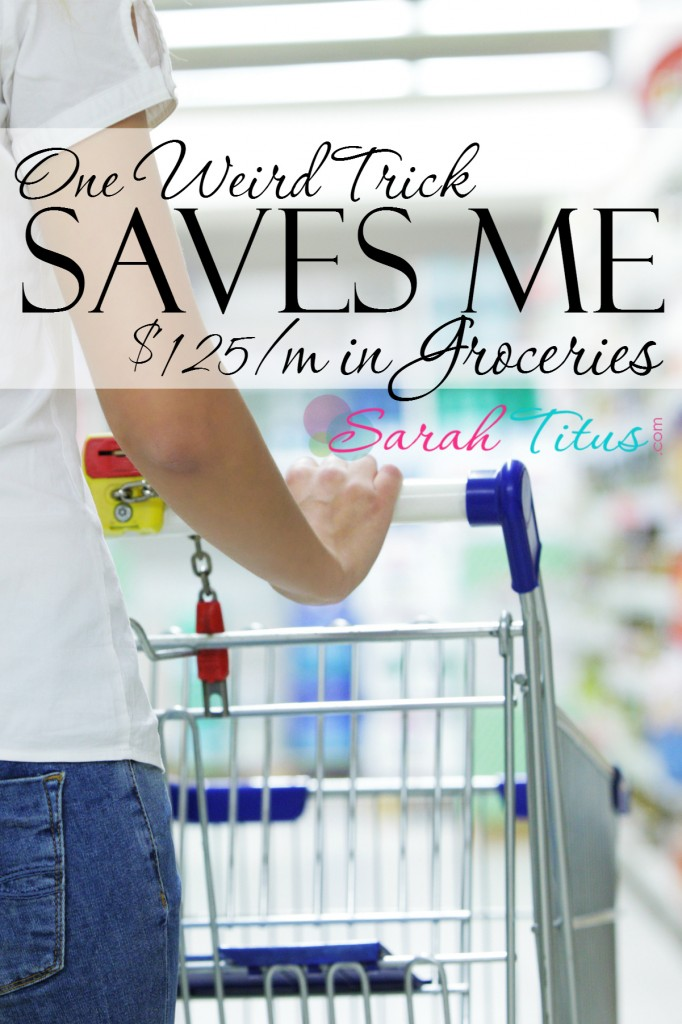 Check out this amazing tip so you can save on groceries every month too.