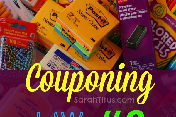 Couponing Laws