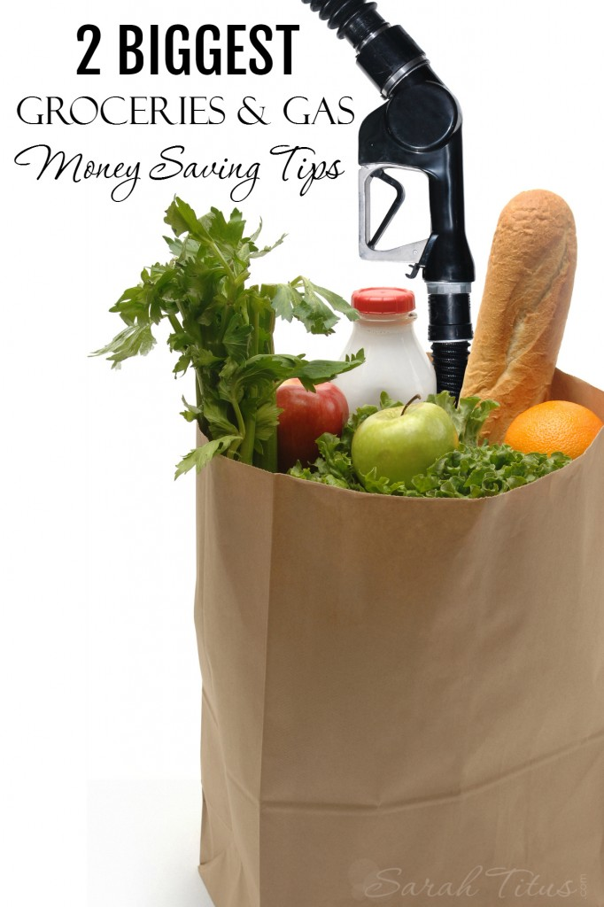 You can save a considerable amount of money by following these two simple groceries and gas money saving tips.