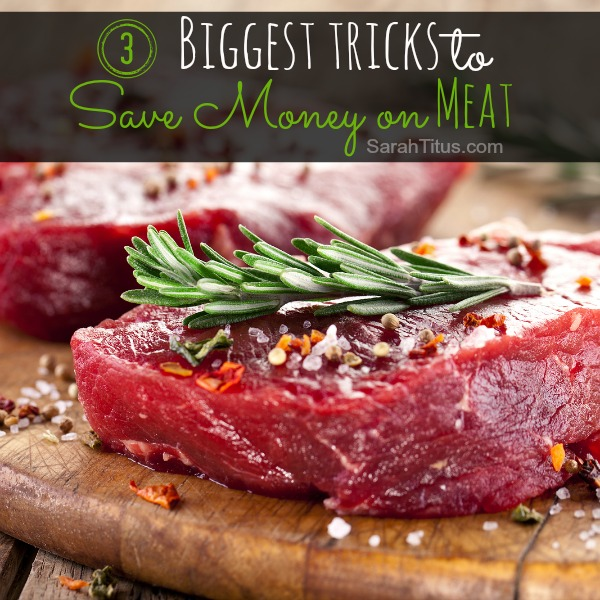 It's not easy saving money on meat, but with these 3 superstar tricks, your budget will definitely thank you!