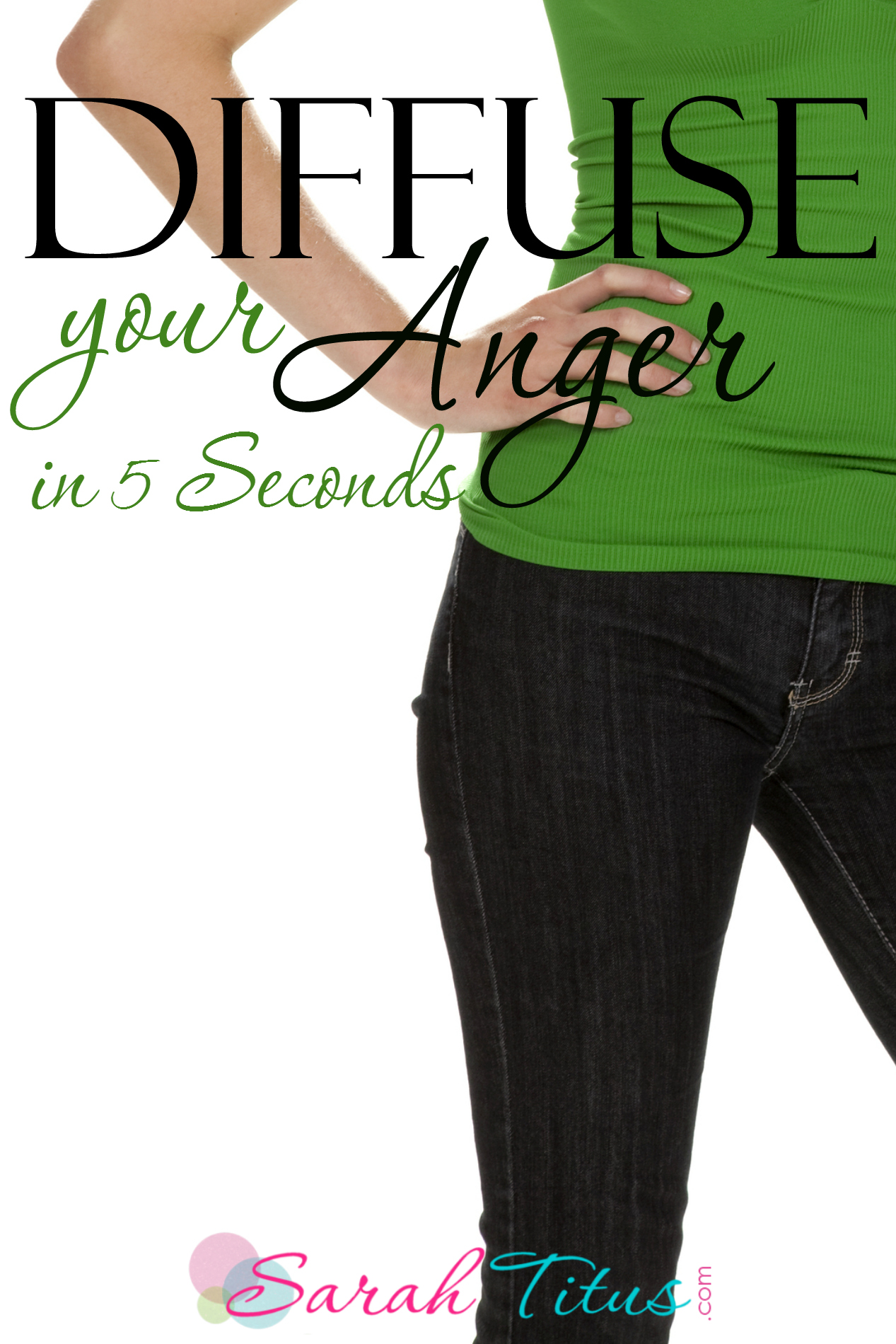 Diffuse Your Anger in 5 Seconds