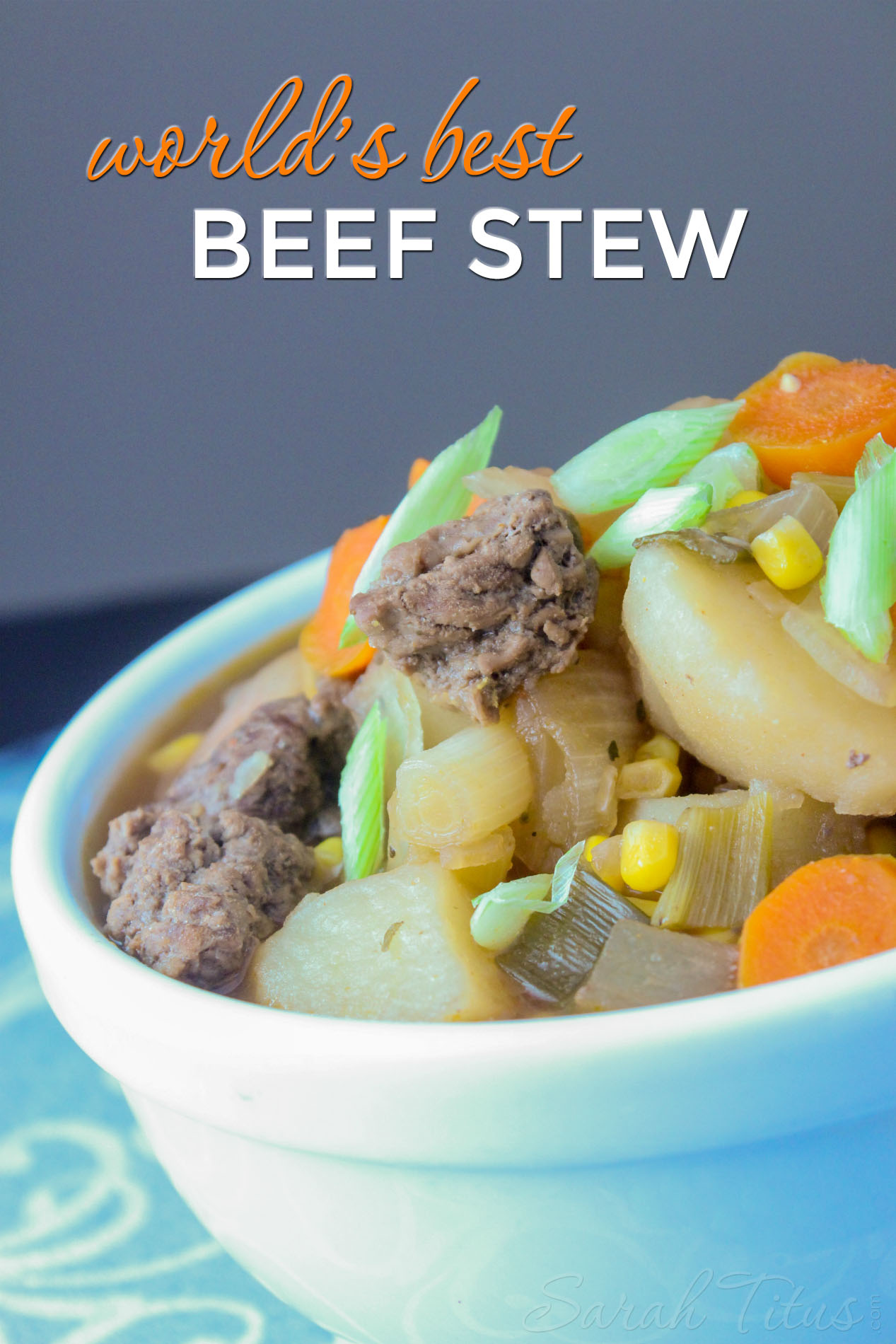 World's Best Beef Stew