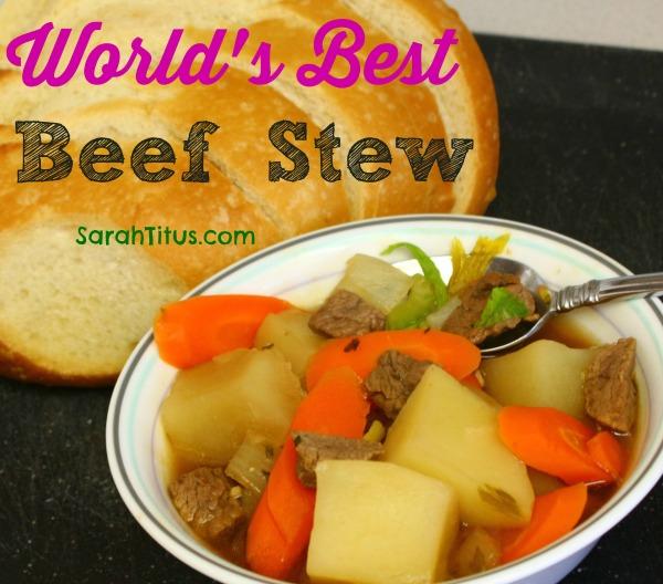 worlds best beef stew