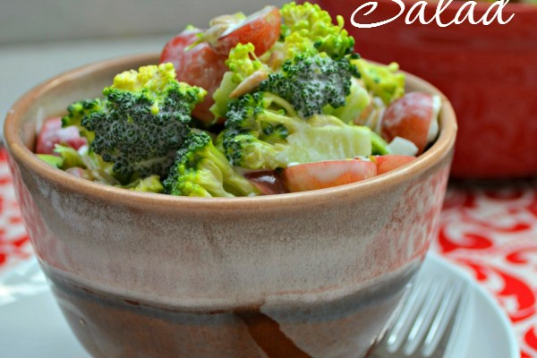 Nutritious Broccoli & Grape Salad