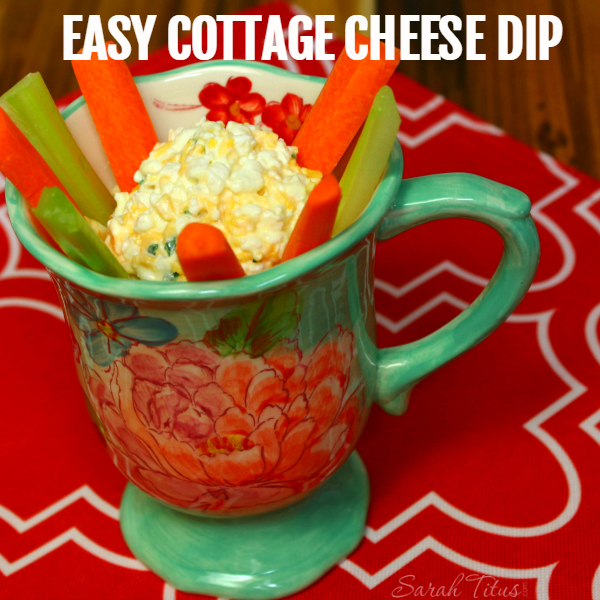 Cottage Cheese Dip Recipe – Get Kids to Eat Their Veggies