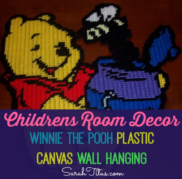 Winnie the Pooh Plastic Canvas Pattern: DIY Children's Room Decor