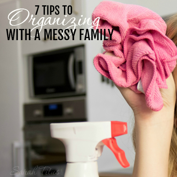 Although my family was not raised in a barn, they sure act like it! I'm the only organizational one in the house. How do I deal with it, and more importantly, how can you survive without pulling your hair out? Read this article and it'll really help!