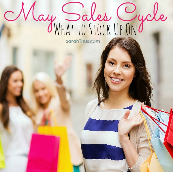 may sales cycle what to stock up on