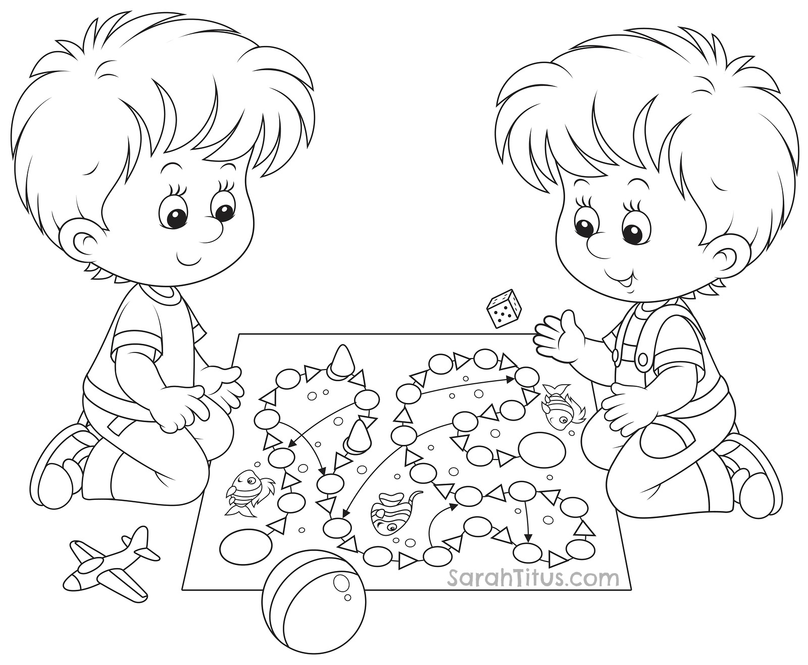 childs play coloring pages - photo #14