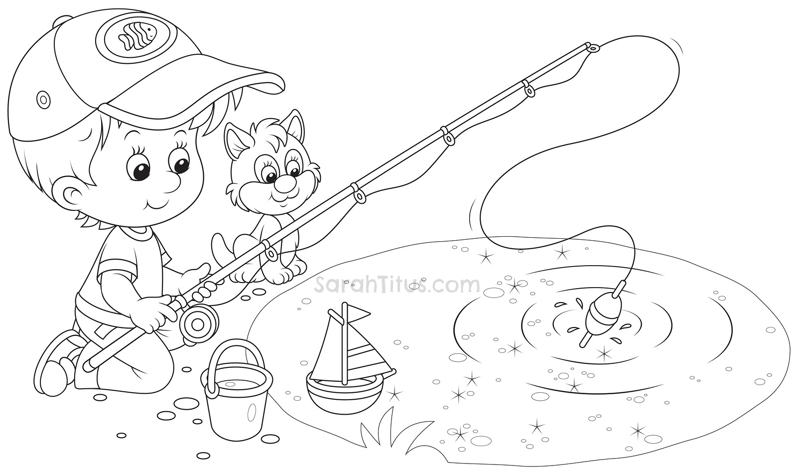 Free Coloring Pages Of Fun Worksheets For Kids