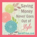 Saving $ Never Goes out of Style