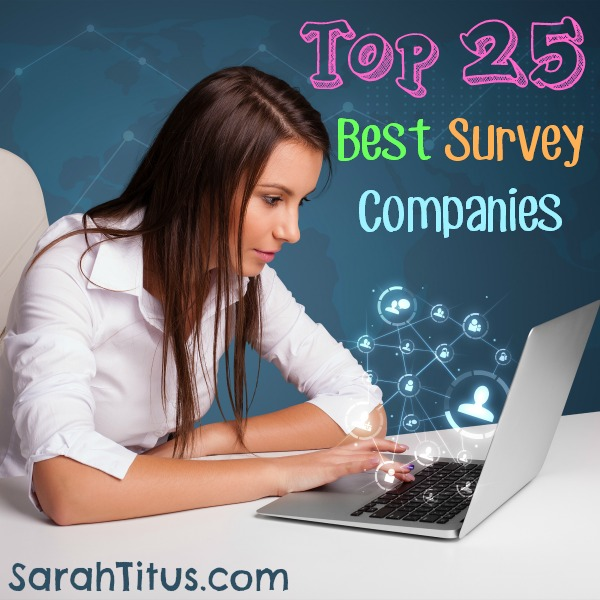 I have personally taken surveys for the last 10 years and know which companies are good and which ones are scams and how to tell the difference. Which companies are the best, pay the most, and have the funnest products to review? Find out here: Top 25 Best Survey Companies