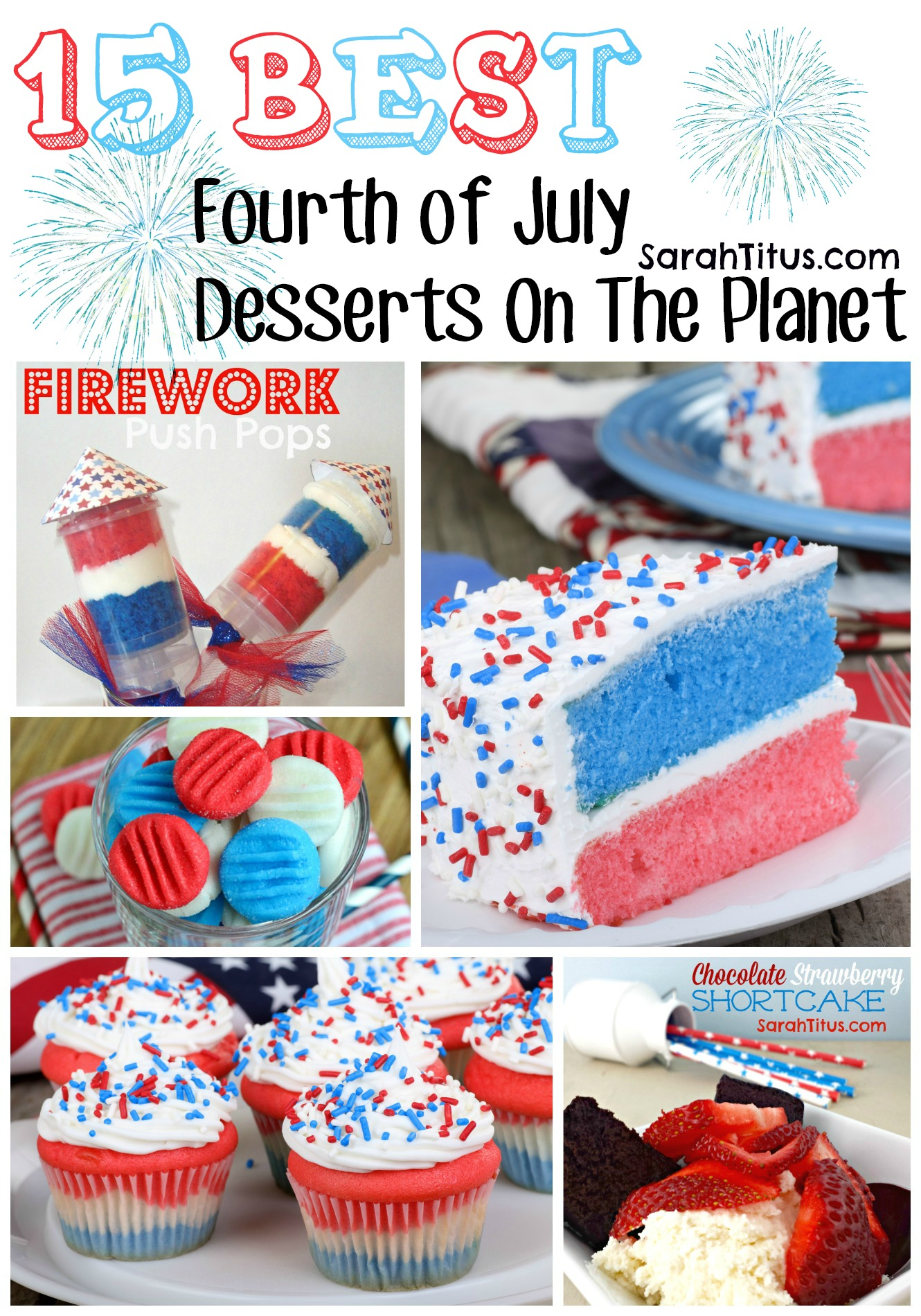 15 Best Fourth of July Desserts On The Planet