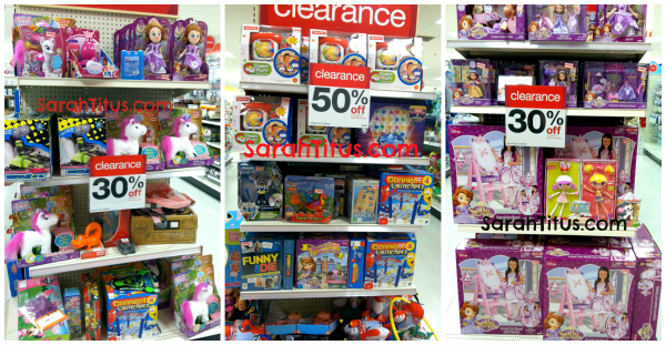 target clearance christmas in july