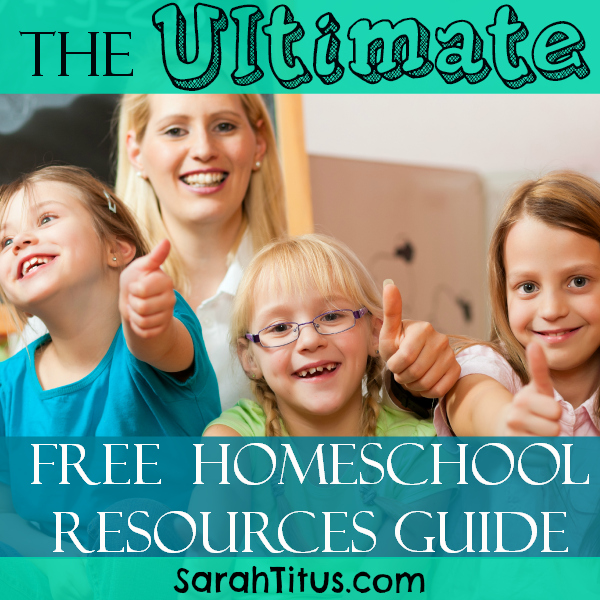 Ultimate FREE Homeschool Resource Guide