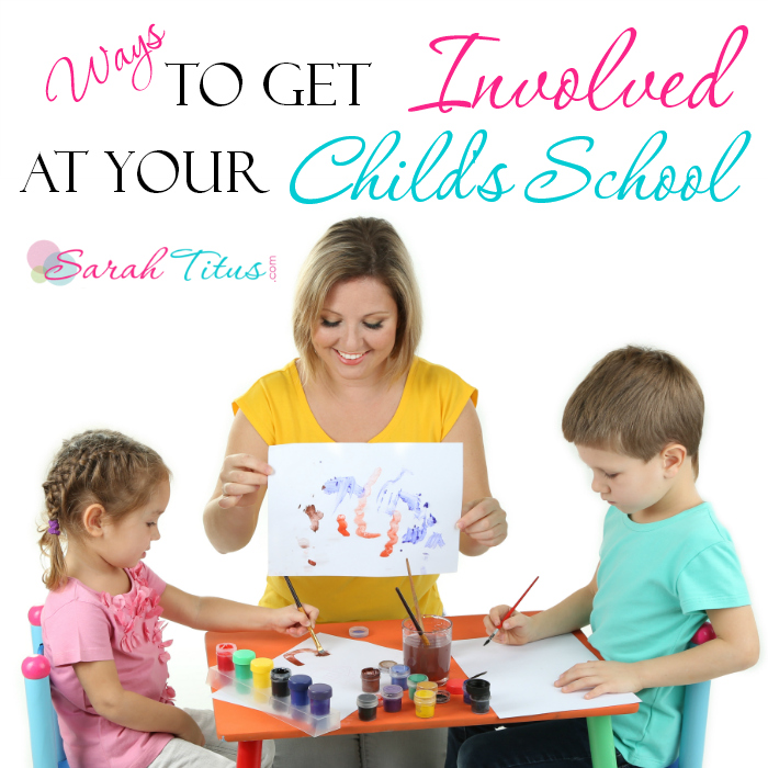 Ways to Get Involved at Your Child's School
