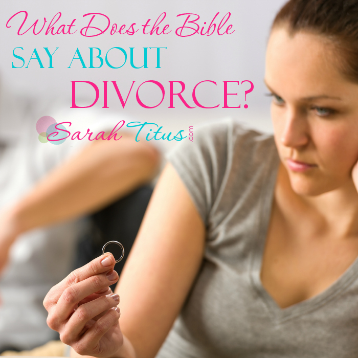 What Does the Bible Say About Divorce? #christiandivorce
