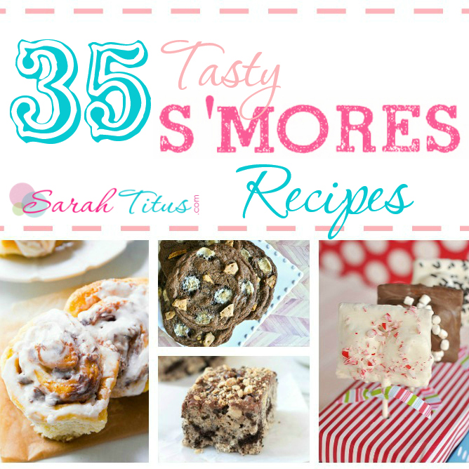 35 Tasty S'mores Recipes