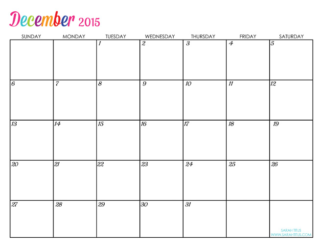 ... all the calendars for 2015 of the DIY coloring sheets (2nd calendar