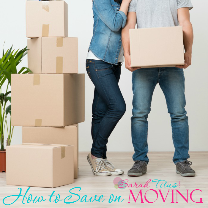 How to save money on moving