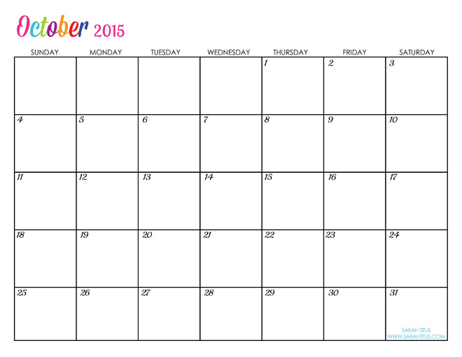 Editable Calendar Uk : Fashion october calendar