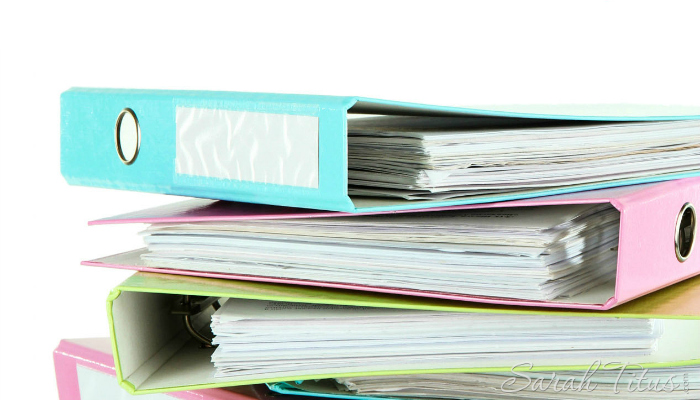 Does the thought of organizing paperwork make you cringe? Me too! I'm a paper-hater, but I've found ways of overcoming that paper monster, and you can too! Tips for Organizing Paperwork
