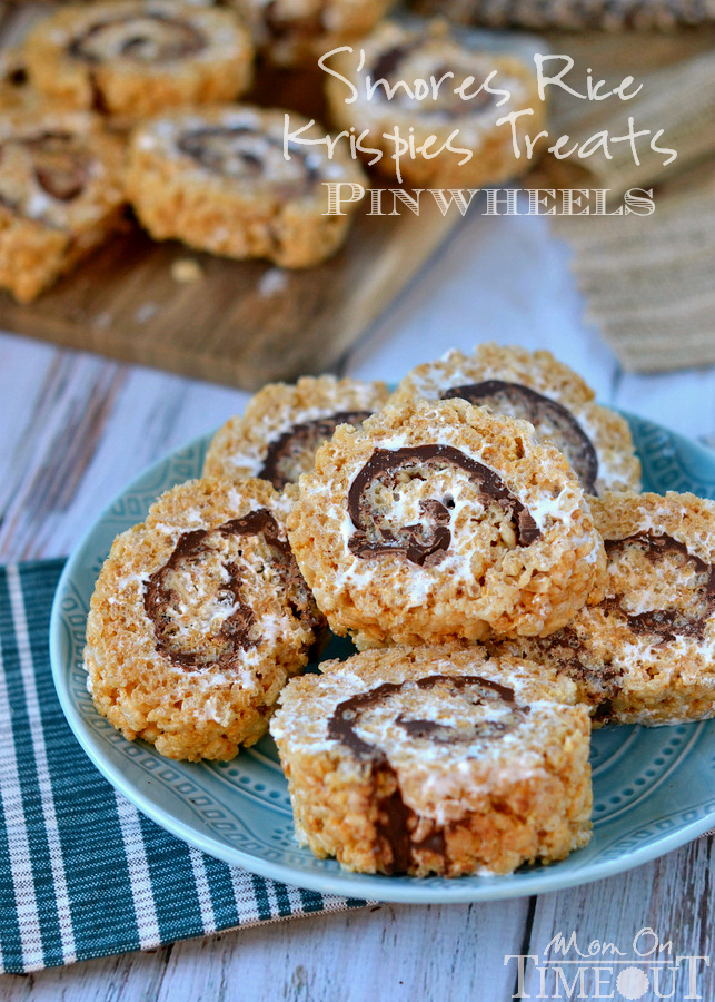 18. S'mores Rice Krispies Treats from Mom on Timeout