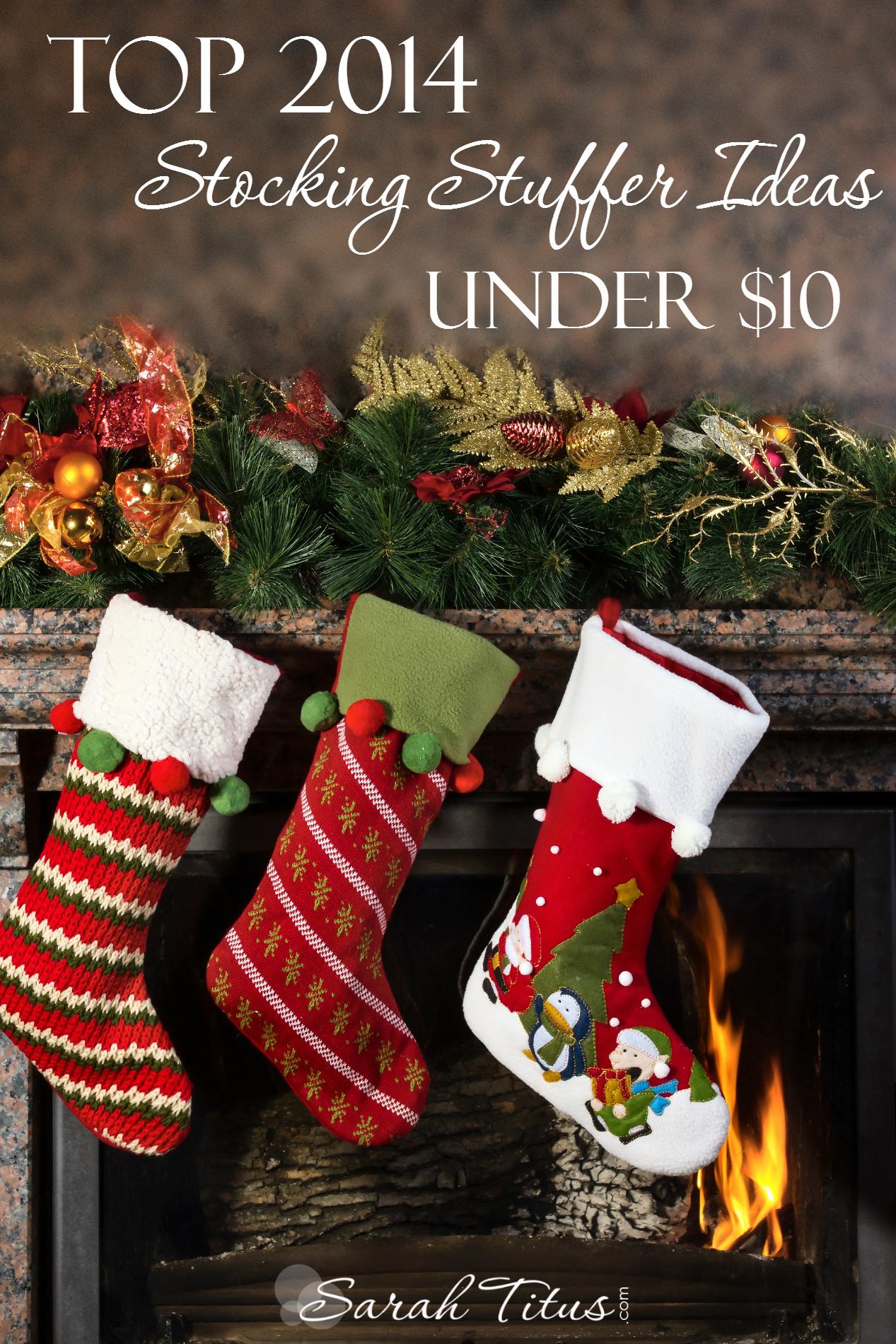 Top 2014 Stocking Stuffer Ideas Under 10 Sarah Titus