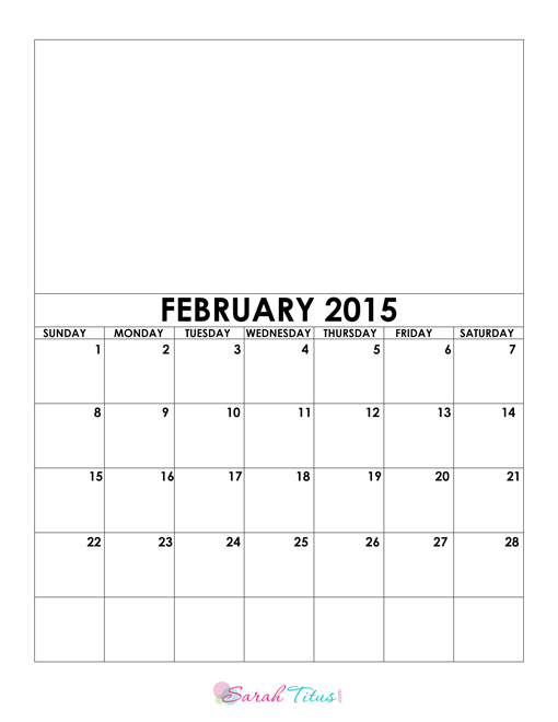 510 x 660 jpeg 39kB, Blank Feb 2015 Calendar/page/2 | Calendar Design