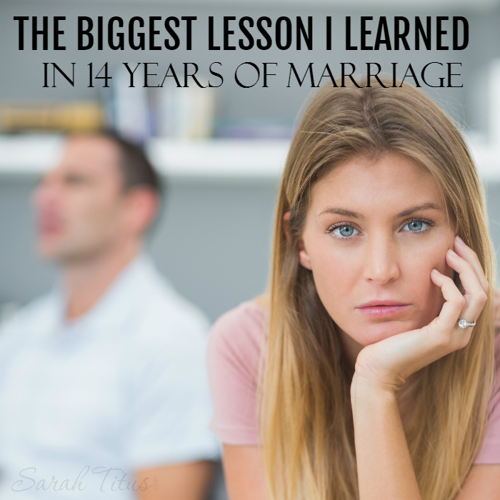 Being married for 14 years, you could say I've learned a thing or two, but this is, by far, the most important thing I could ever teach you. Wanna have a great marriage? You will absolutely need to learn this one thing!