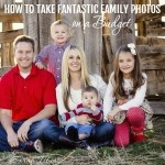 Family photos are gorgeous and something that every family wants to have to remember, but getting fantastic photos can get quite spendy. Here are some great tips on how to take fantastic family photos on a budget.