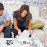 Financial pictures can come crashing down in an instant...here's how to survive that next financial crisis. Tip #1 - Expect the unexpected and be prepared!