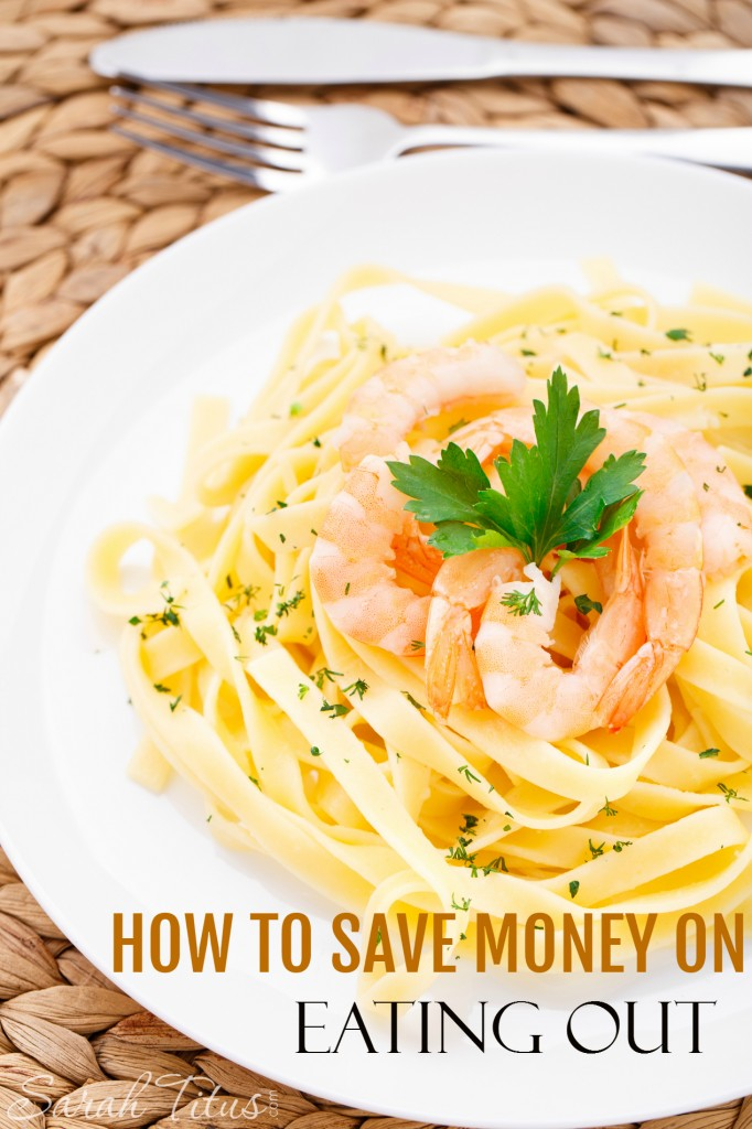 Who doesn't like to eat out...but it's not fun when it comes time to pay. Here are some fantastic tips of how to save money on eating out, so you can put your feet up and relax, but not be shocked when the bill arrives.