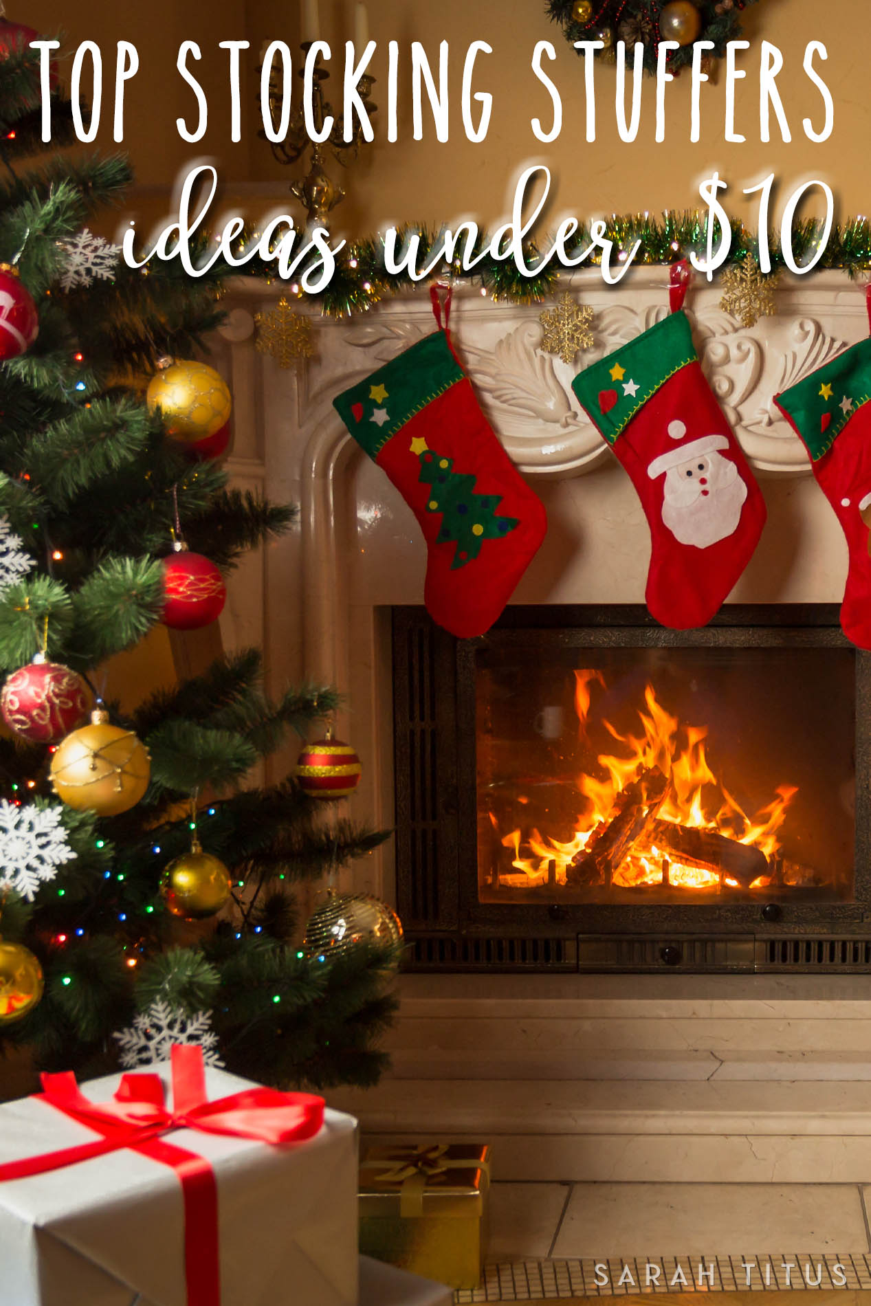 Top Stocking Stuffer Ideas Under $10 - Sarah Titus