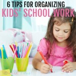 If your kids are in school, most likely you have mountains and mountains of paperwork they bring home to you. How do you know what to save for memories and more importantly, where do you put it all? Check out this article and find out!