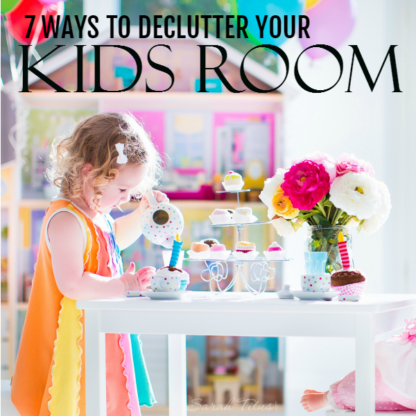 Do your kids fight you every time you try to declutter their rooms? Mine too! Here's how I solved that problem and how you can too!