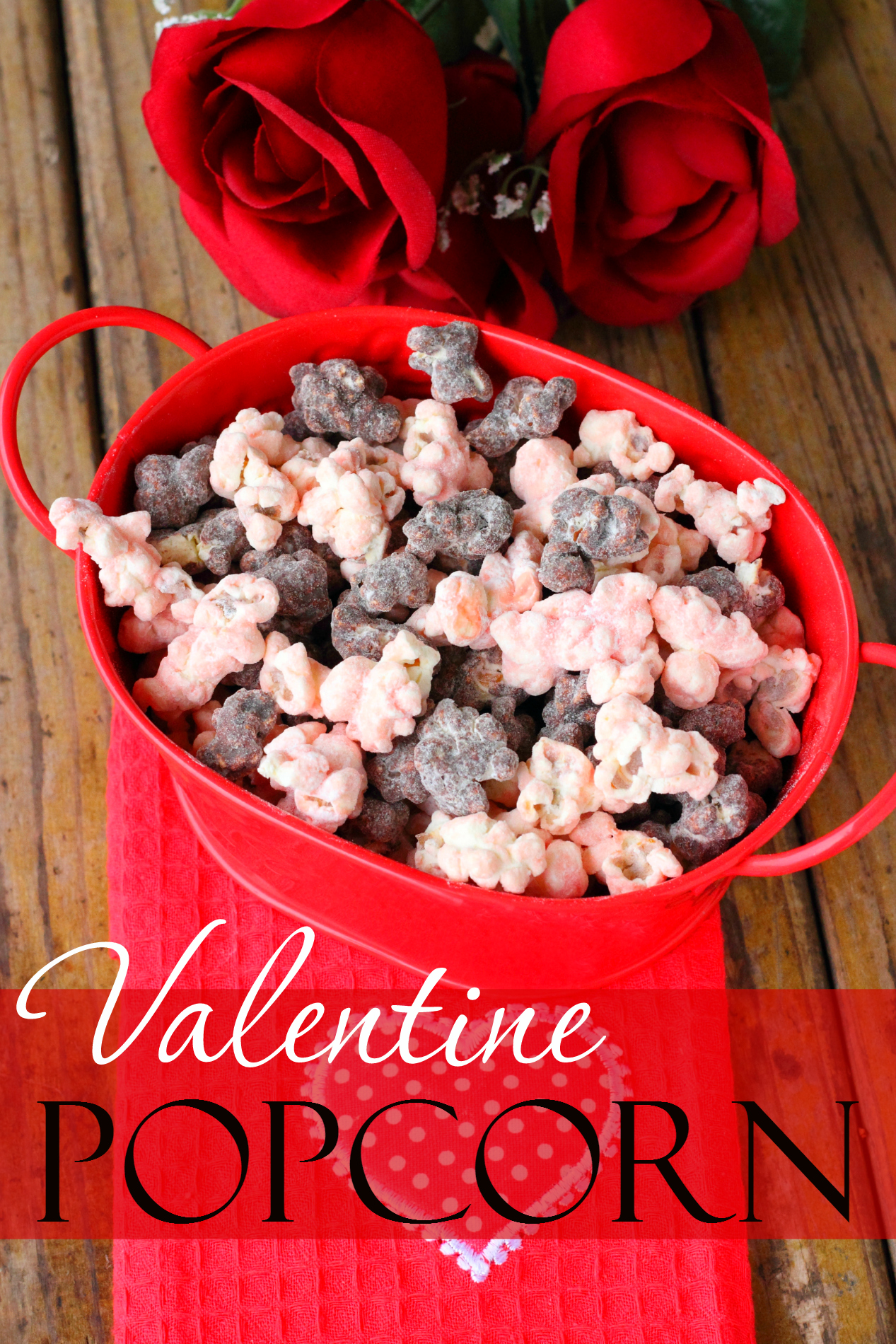Make your Valentine a sweet treat this Valentine's Day with this delicious and easy-to-make Valentine's Popcorn!
