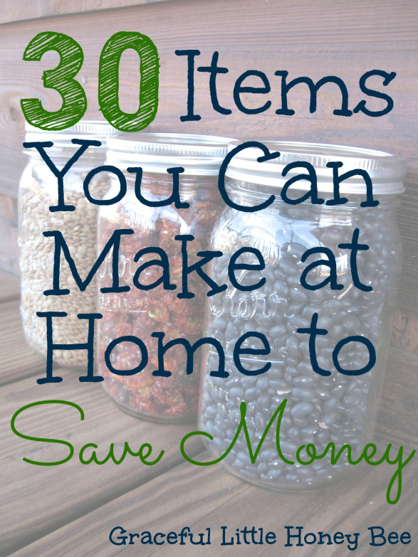 Frugal friday link up party week 25 sarah titus for Products you can make at home