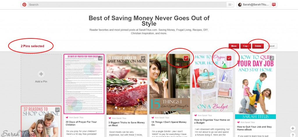 Bloggers: 9 Reasons You Should Be Deleting Your Pins - Sarah