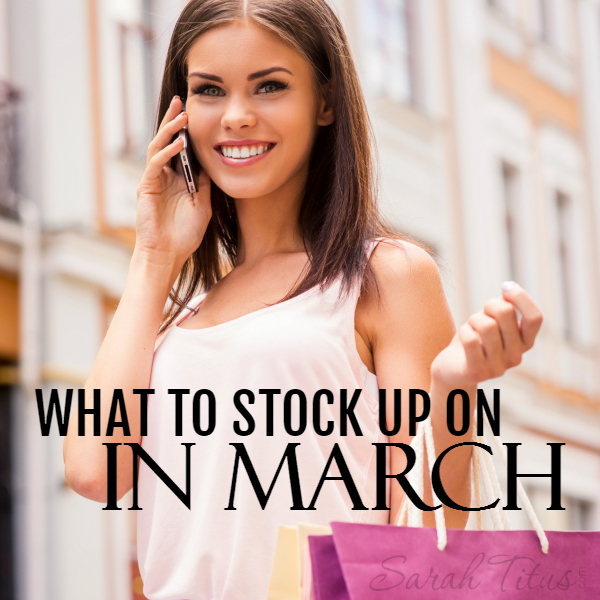 March Sales Cycle: What to Expect to See On Sale