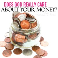Did you know that approximately 800 verses in the Bible talk about money or that Jesus talked more about money than he did about Heaven and Hell combined? God cares a great deal about our money, but the reason why, just may shock you!