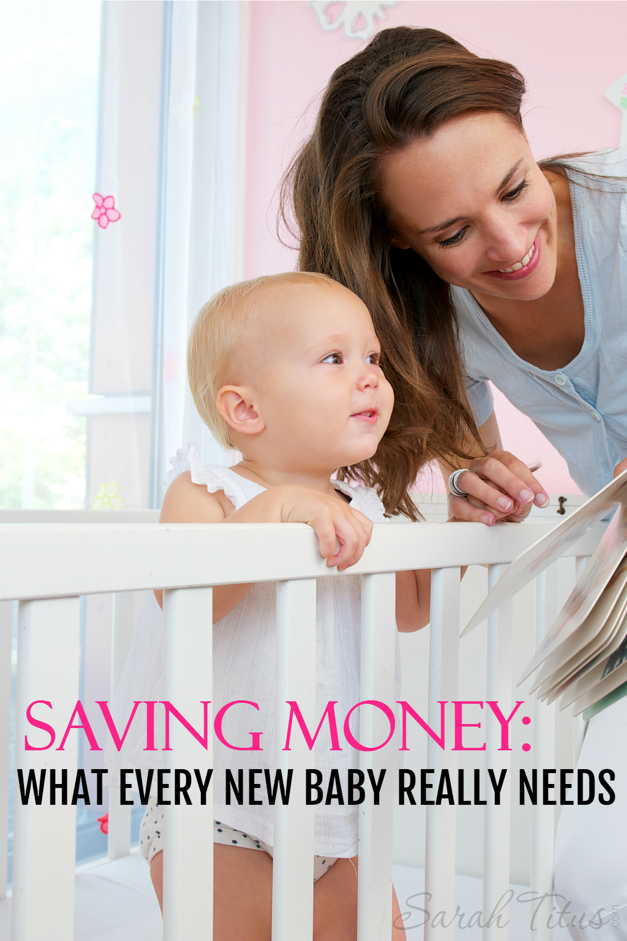 Kids don't have to be expensive. Here you will find a checklist for saving money: what every new baby REALLY needs and what they don't!