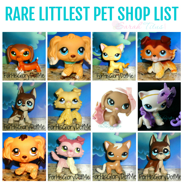 RARE LITTLEST PET SHOP LIST