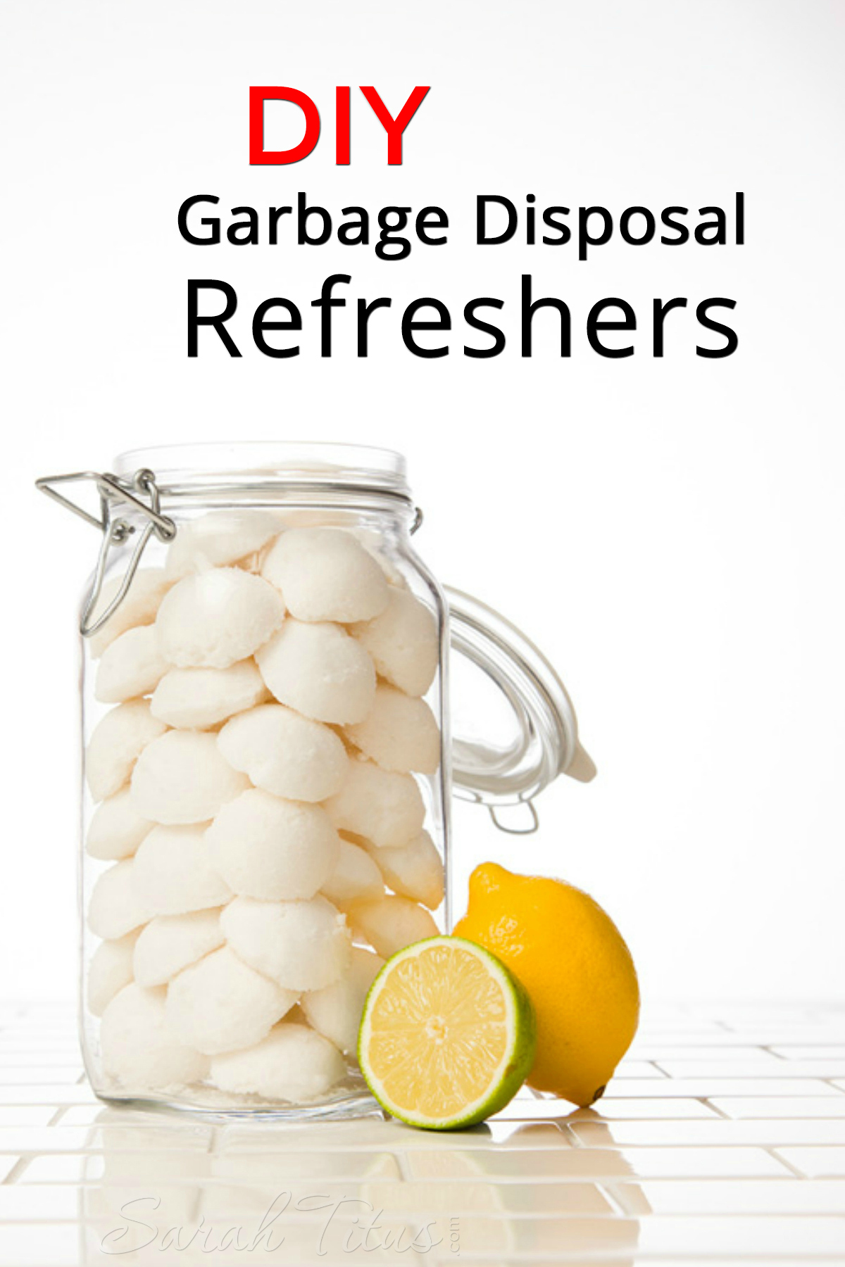 Chances are, with everything that goes in your garbage disposal, odors will begin to accumulate over time. These fantastic DIY Garbage Disposal Refreshers are just what you need!