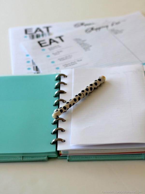 Free Printable Menu Planner & Grocery List via homework (2)[7]