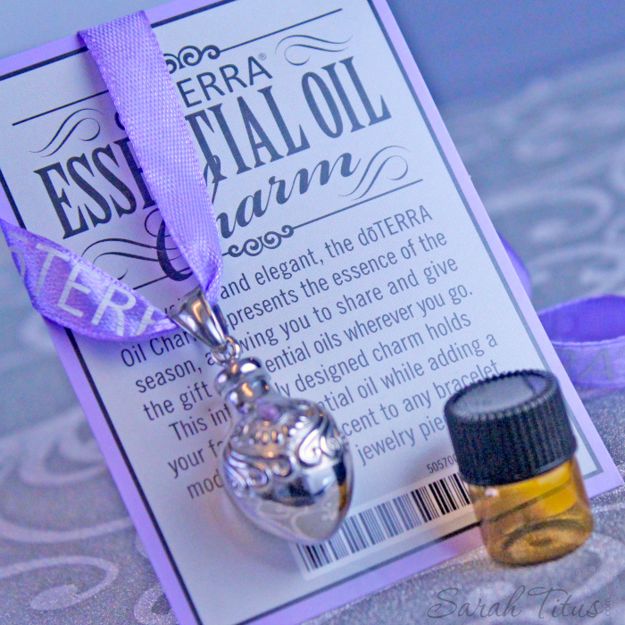 Win this gorgeous essential oil necklace!
