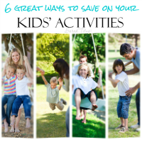 Although we love spending time at home as a family, there are SO many things you can do outside the home that are cost effective as well. Here are 6 great ways to save on kids' activities that will really challenge your thinking!