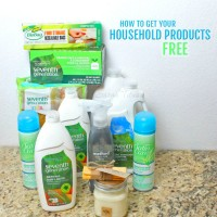 You can spend the rest of your life paying for household products OR you can learn how to get all your household products free! Come along as I teach you my secret ways!