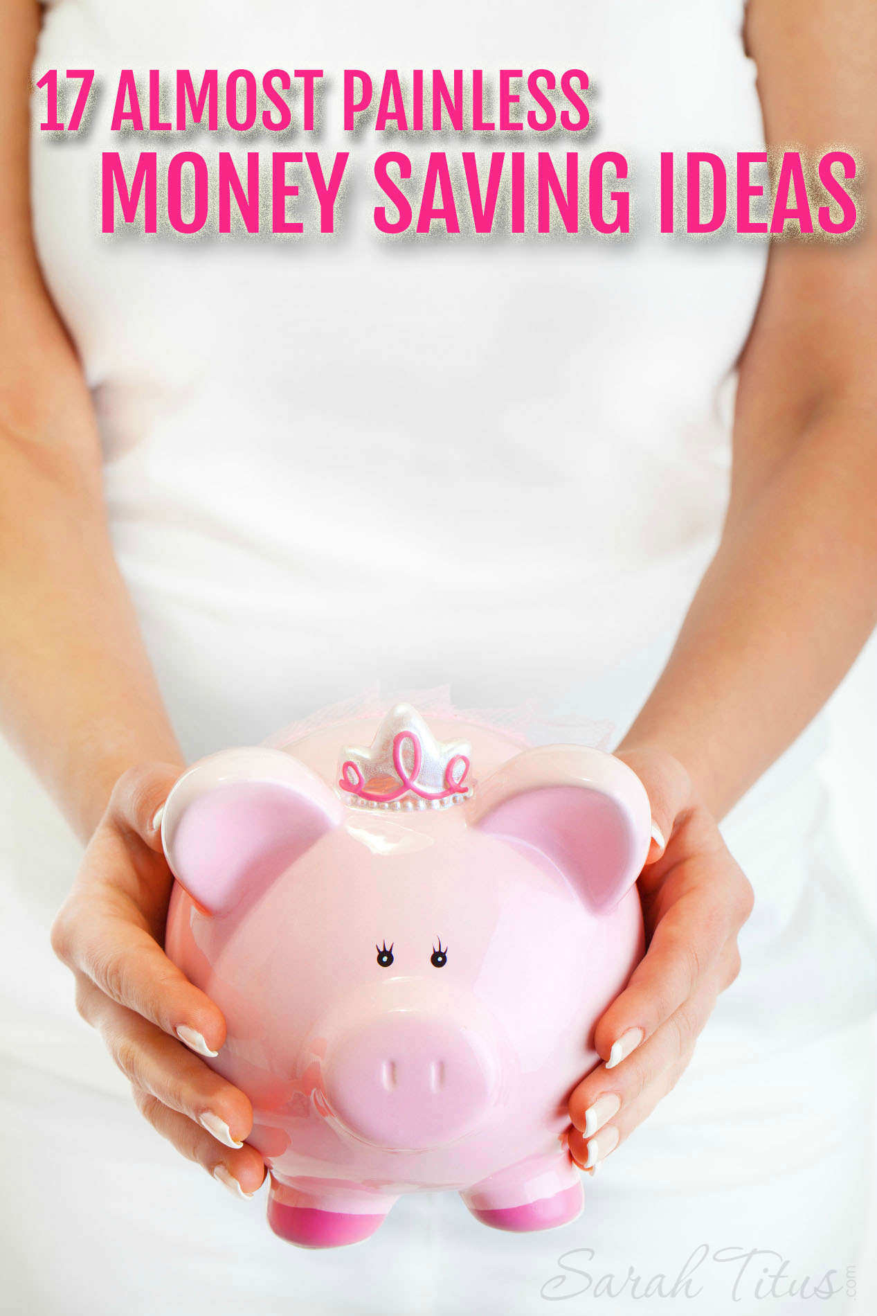 Saving money doesn't mean sacrificing everything. A couple small changes can save a lot! How many of these almost painless money saving ideas have you done?